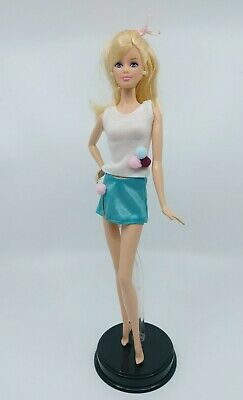 New Barbie clothes complete animal print outfit fashion belt shoes