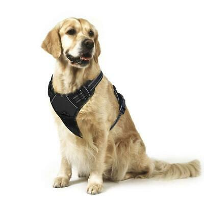 *NEW* Rabbitgoo No-Pull Dog Harness Padded Adjustable Pet Vest with Handle Front