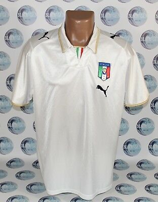 d7eeaf5c4 Italy National Team 2008 2010 Away Football Soccer Shirt Jersey Maglia Puma  L