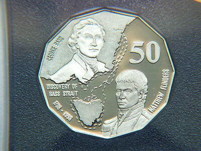1998 Australian Proof 50 Cent Coin.