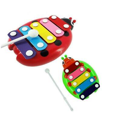 Wooden Beetle Knock Piano Music Xylophone Toys Kid Toddler Educational Child Toy