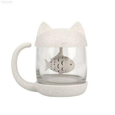 48FF Glass Cup Fish Coffee Cute Water Cup