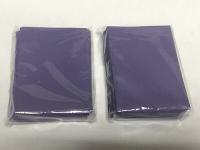 Lenayuyu 120pcs DECK PROTECTOR Card Sleeves 62mm*89mm purple and Matte