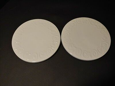 """Gibson Everyday China """"Claremont"""" Trivets ~ Set of 2 ~ Hard to Find"""