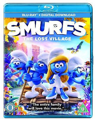 Smurfs: The Lost Village Blu-ray New & Sealed