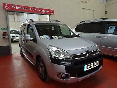 12 Citroen Berlingo Automatic    Wheelchair Adapted Disabled Vehicle