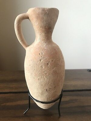 Holy Land Ancient Pottery: Middle Bronze Jar 1850-1550BC