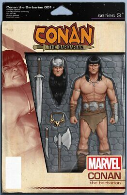 Conan The Barbarian Issue 1 - Rare Action Figure Variant Cover - Marvel Comics