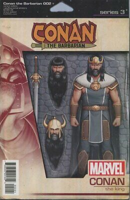 Conan The Barbarian Issue 2 - Rare Action Figure Variant Cover - Marvel Comics