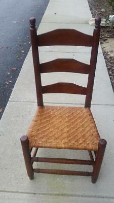 Weaved Cane Chair Ladder Back Fast Shipping