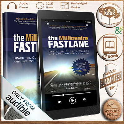 AudioBook The Millionaire Fastlane - MJ Demarco MP3 🔥Instant Delivery(10s) 🔥