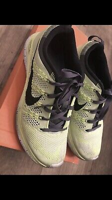 official photos 30c98 00f17 Nike Flyknit One+ Lunar1 Running Shoes Size 7.5 Volt Electric Green 7 1 2