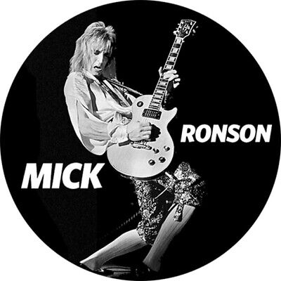 CHAPA/BADGE MICK RONSON . pin button david bowie spiders from mard mott hoople
