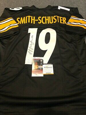 6e1e40f01e7 Pittsburgh Steelers Juju Smith-Schuster Autographed Signed Jersey Jsa Coa