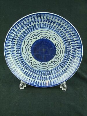 Lovely Shallow Chinese Bowl, 21.2Cm Diameter, Antique?