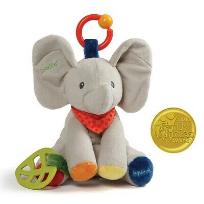 Baby GUND Flappy the Elephant Activity Toy for Educational Play Stuffed Animal