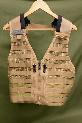 Protech Tactical MOLLE Vest PT0007 Coyote Military Combat Assault Gear (#V4)