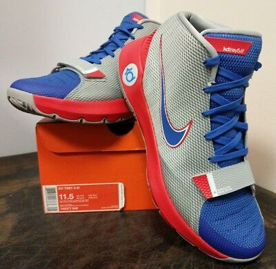 quality design 787be c7a5e New, Nike K.Durant KD Trey 5 III 3 Wolf Grey Game Royal