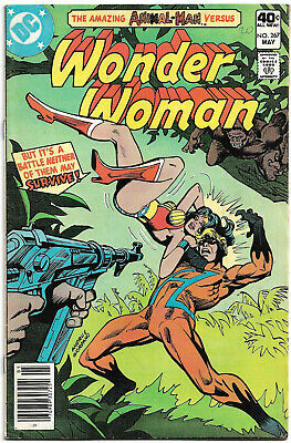 DC Copper Age : Wonder Woman #267 (Ross Andru) Animal Man (Jose Delbo) 1980