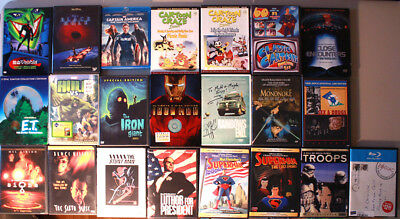 HUGE 22 DVD BLU RAY Lot - Winter Solider Superman Jaws Star Wars TROOPS - MORE!