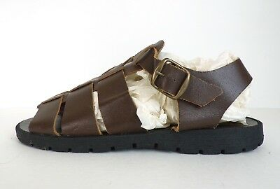 3a131a041c55 BUSKENS Vintage Women s Shoes Size 9 M Huaraches Open Toe Sandals Made Italy