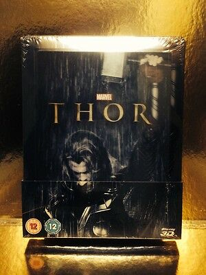 STEELBOOK Bluray Thor [ Zavvi Limited To 4000 Ex ] 2D/3D