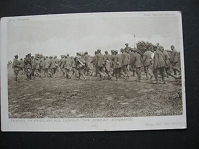 German Prisoners During The Great Advance WW1