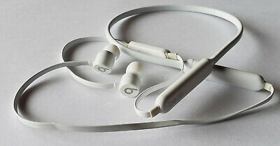 White BeatsX Beats X In-Ear Wireless Headphones - SOLD-AS-IS - Read Description