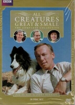 All Creatures Great Small Complete Collection 28  DVD  Box Set New Free Shipping