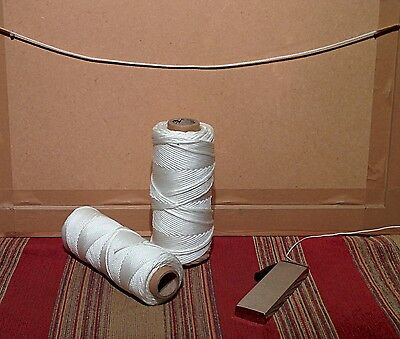 1.5 mm /2 mm  Braided, Nylon, Picture Frame Cord (100 METRE REEL)