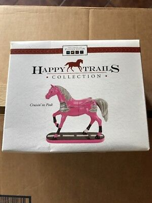 Enesco Trail Of Painted Ponies Happy Trails Figurine CRUISIN IN PINK #4026348