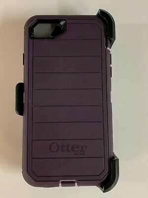 Otterbox Defender Pro Series Case for iPhone 7 iPhone 8 w/ Holster Purple Nebula