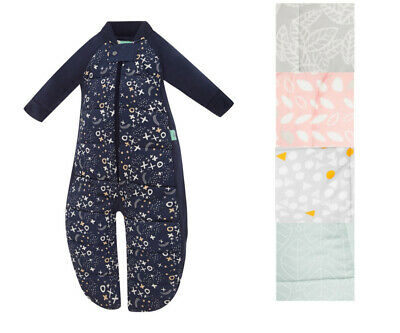 ErgoPouch 3.5 TOG Baby Sleep Suit Swaddle Bag Organic Cotton Room Thermometer