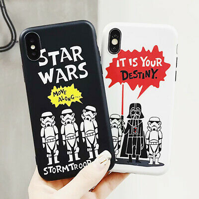 Destiny Cartoon Star Wars Phone Case Silicone TPU Cover For iPhone X 8 7 6S Plus