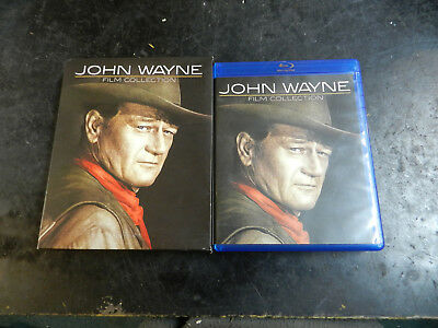 #460 John Wayne Film Collection Blu-ray Disc, 2014, 7-Disc Box Set Free Shipping