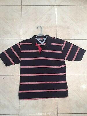 c2ffcd524c7 Vintage XL Tommy Hilfiger Mens Polo Golf Shirt X Large Discount Cheap  Stripes
