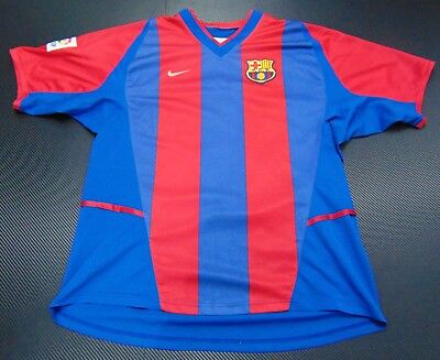 FC Barcelona 02-03 Kluivert Home Shirt Holland Jersey Netherlands Ajax Maglia