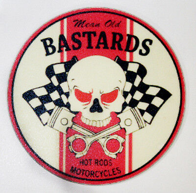 Mean Old Bastards Rat Rod Hot Rod Vintage Racing Rat Fink Sticker Tools Oil Gas
