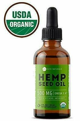 100% PURE ORGANIC HEMP OIL USDA EXTRACT 4000mg FREE SHIPPING REAL PAIN RELIEF
