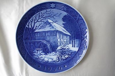 1976's Royal Copenhagen Denmark Holy Night Plate Decorate Dish Limited edition