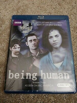 Being Human: The Complete Fourth Series (Blu-ray Disc, 2013, 3-Disc Set)