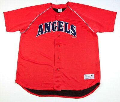 c4936162 Vintage Los Angeles Angels MLB Baseball Men's Jersey Dynasty Size XL Rare