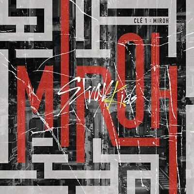 STRAY KIDS CLE 1:MIROH Mini Album NORMAL CD+POSTER+PhotoBook+3p Card+GIFT SEALED