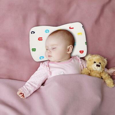 Breathable Cotton Newborn Infant Anti-Roll Sleep Pillow Head Support Cushion