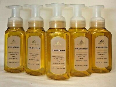 5 Limoncello Gentle Foaming Hand Soap Bath & Body Works 8.75 Oz
