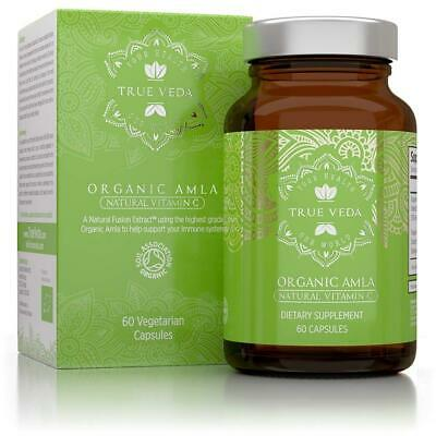 *NEW* Organic Amla Vitamin C Capsules Certified by Soil Association Potent