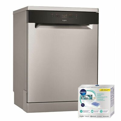 WHIRLPOOL LAVE-VAISSELLE posable Inox 46dB A+ 13 couverts 60cm 5 programmes