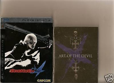 Devil May Cry 4 Collectors Playstation 3 Ps3 Steel Book