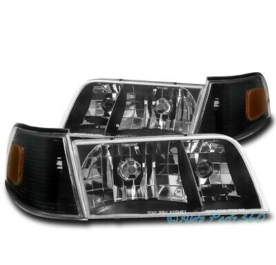 Headlight Headlamp Left Driver Side for 98-11 Ford Crown Victoria