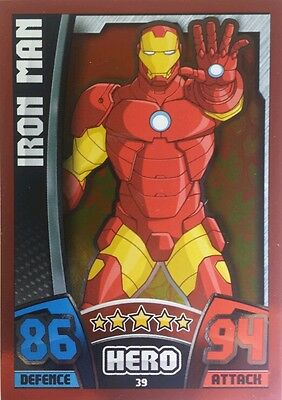 MARVEL HERO ATTAX Series 4  RED MIRROR FOIL Card Set of 16 ( 2015 )   33 - 48